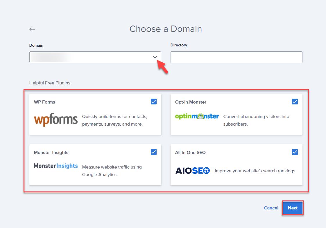 wordpress-installation-choose-a-domain