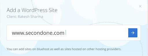 entering-the-sites-url