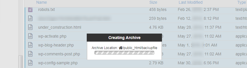 creating-archive