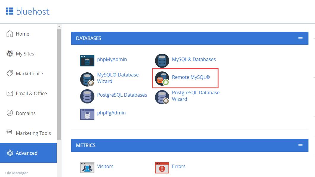 rock-advanced-database-remote-mysql
