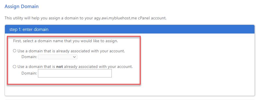 Legacy-domain-assign-shortcut-choose-assign-domain1