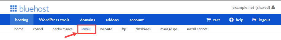 legacy-email-sub-menu
