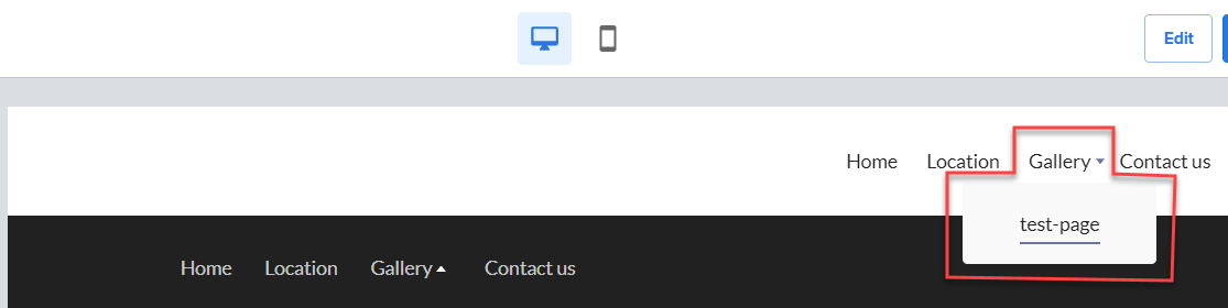 website-builder-sub-menu-example