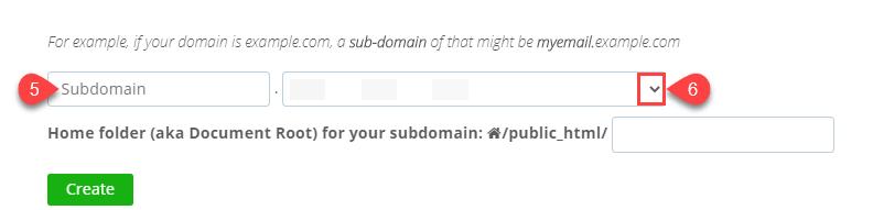 create-subdomain