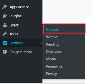 wordpress-setting-general