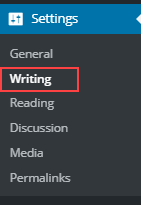 wordpress-setting-writing