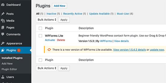 wp-update-plugins