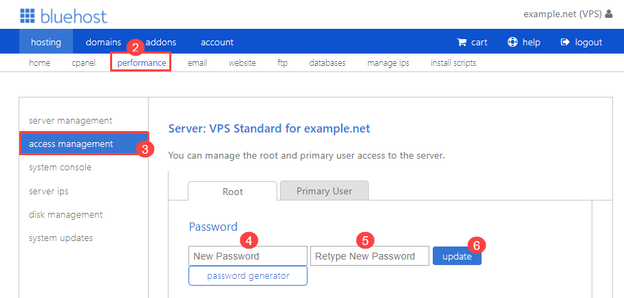 vps-performance-access-management